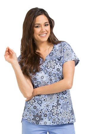 87a740eb038 Med Couture / MC2 Lexi Print Top in Case In Point