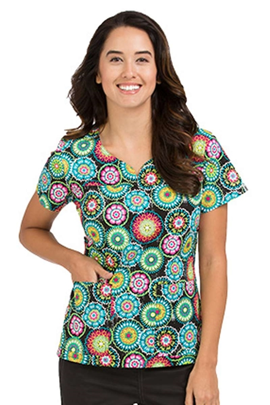 MC2 Lexi Print Top in Summer Daze by Med Couture