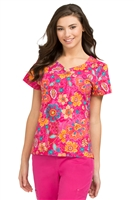 Lexi Print Top by Peaches Uniforms