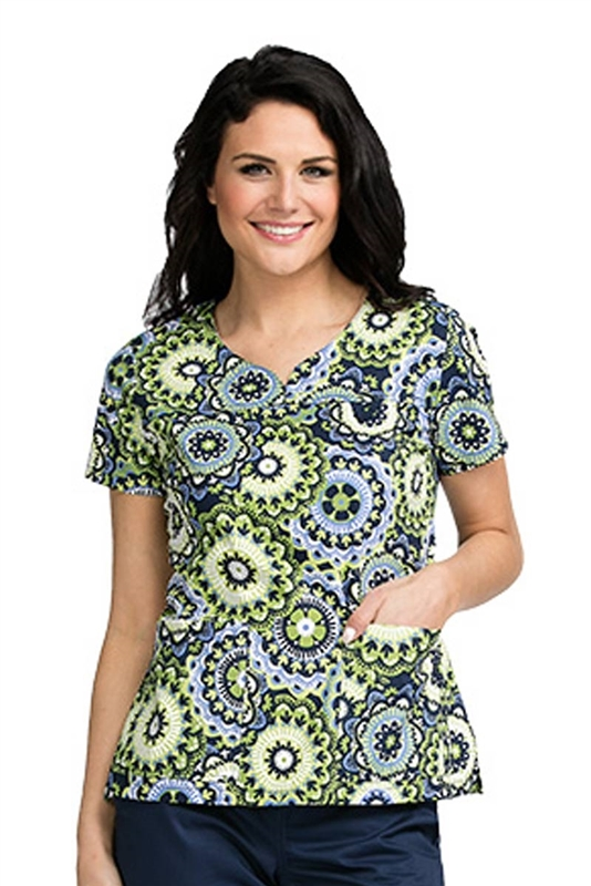 MC2 Lexi Print Top in Toss & Turn by Med Couture