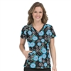 Med Couture Activate Refined Scrub Top In The Mix