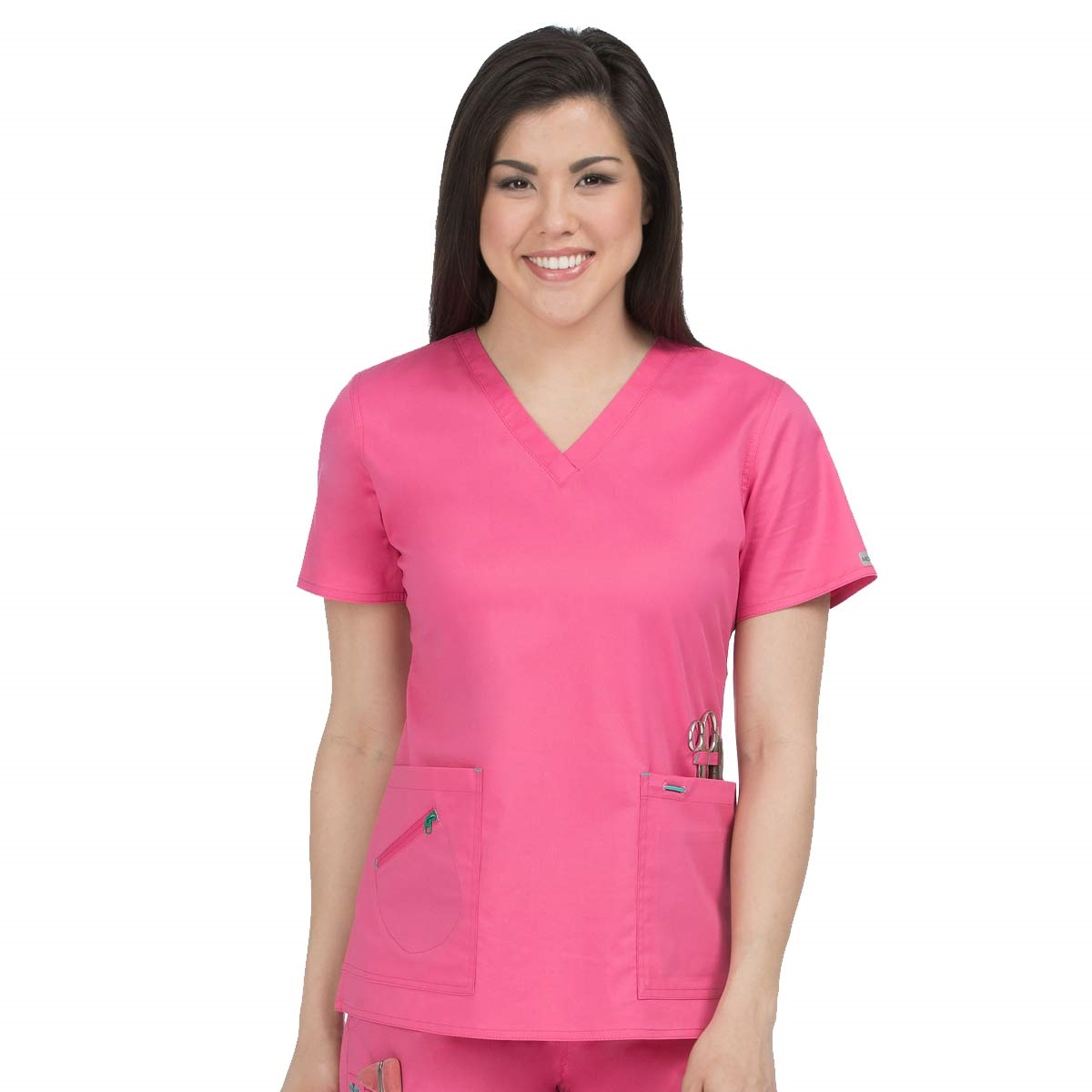 3db5e106ac0 Med Couture Mobility V-Neck Top - Great selection of color combinations