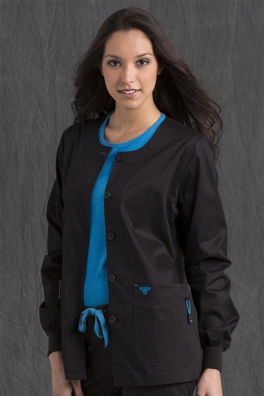 Med Couture Warm-Up in Black/Pacific- $29.99
