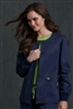 Med Couture Warm-Up in Navy/Apple- $29.99