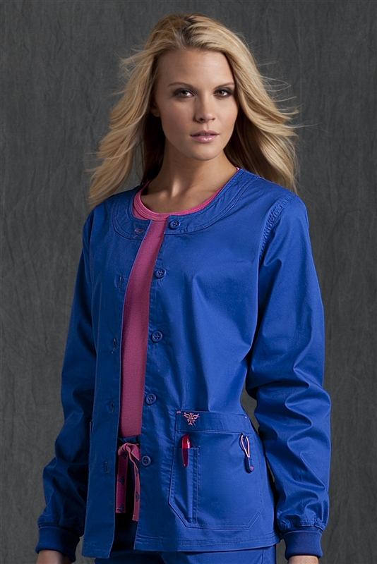 Med Couture Warm-Up in Royal/Passion Pink- $29.99
