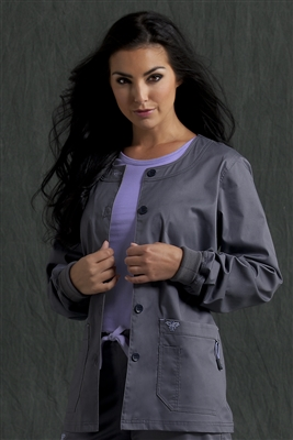 Med Couture Warm-Up in Steel/Peri- $29.99