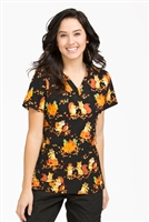 Peaches Anna Print Top in Fall Friends