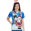Med Couture Anna Print Top in St. Nick