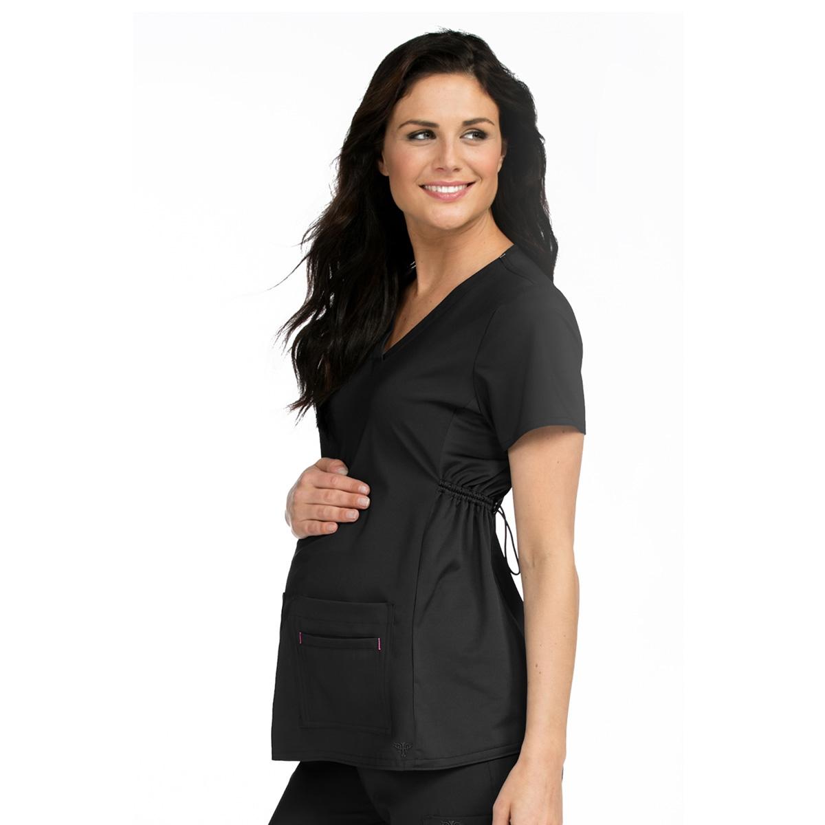 8fa79429558 Med Couture Maternity Scrub Top
