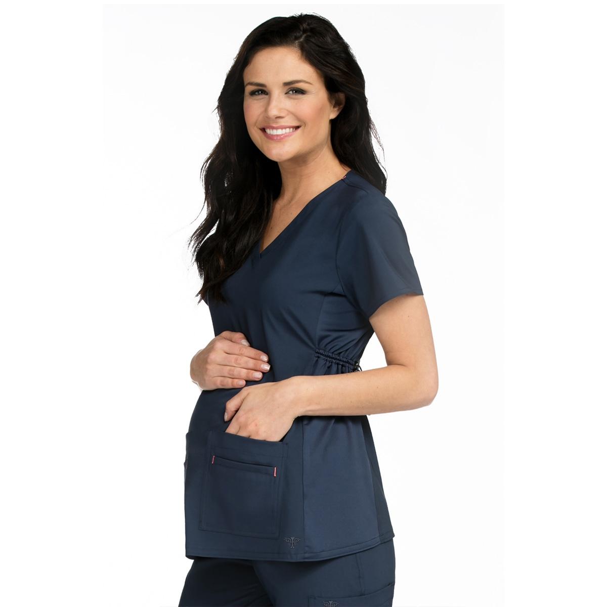 674052591cbfa Med Couture Maternity Scrub Top