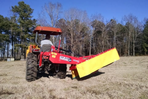 New Tar River 5 5ft Drum Mower with no Hydraulic Lift