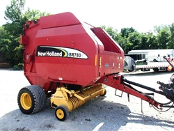 New Holland BR780A Round Baler Wide Pickup