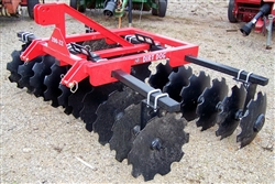 New Dirt Dog Mfg. HD 8 Ft. 3 Point Lift Disc
