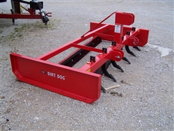 New 7 Ft Dirt Dog Mfg. GRB84S Box Grader