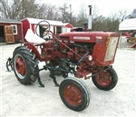 INTERNATIONAL 140 Offset Cultivating tractor