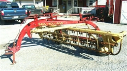 New Holland 256 Hay Rake with dolly wheels