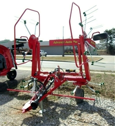New Enrossi / Farm King  (19 ft.) Hay Tedder with Hydraulic Fold Wings and Hydraulic Tilt.