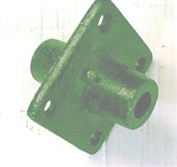 Brush Hog Tailwheel hub for 1 inch axle