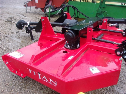 New Titan Implement 8 ft  HD Brush Hog