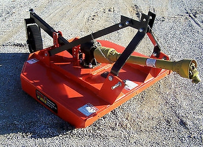 New Tennessee River Imp  4 ft  Rotary Cutter