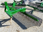 "New 84"" Landscape/Rock Rake for your 3 point"