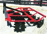 New Atlas WF1616 5 ft.-3 pt. Lift Disc Harrow