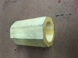 FOUR NEW WOOD OCTAGON CULTIPACKER BEARING FOR 1 3/4 AXLES