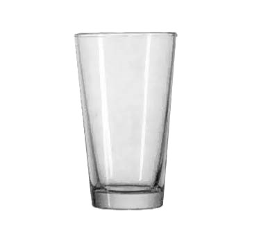 Anchor 7176FU 16 oz Mixing Glass, Rim-Tempered, case of 24