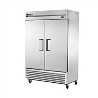 True T-49F-HC Freezer Reach-In, Two Section, 49 cubic ft capacity