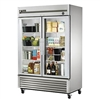 True T-49G-HC Refrigerated Reach-In, Glass Doors,