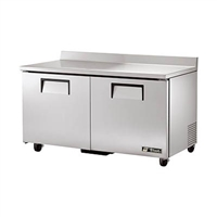 "True TWT-60-HC Refrigerated Work Top, 60"", Two Section"