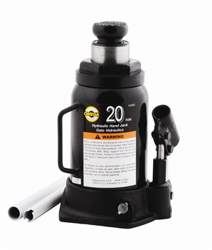 Omega 10205B - 20 Ton Hydraulic Bottle Jack