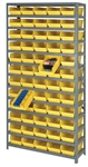 Quantum Storage Complete Shelf Bin System Model #1275-101