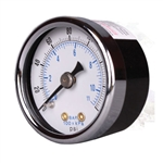 Arrow Pneumatics 1681 Pressure Gauge 0-160 psi