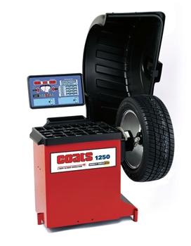 Coats 1250 3D Wheel Balancer with Laser Guided Operation