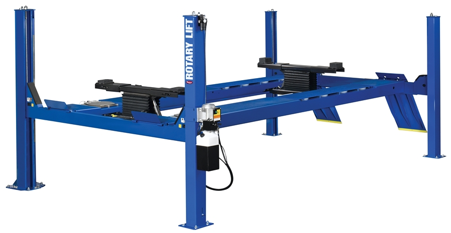Rotary Four Post 14 000 Lbs Capacity Alignment Rack