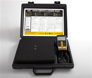 CPS CC220 Compute-A-Charge 220 lb Electronic Scale