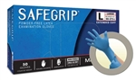 Micro Flex SG375L SafeGrip® Powder Free Latex Gloves - Large - 50/Box