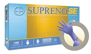 Micro Flex SU690L Supreno® SE Powder Free Nitrile Gloves - Large - 100/Box