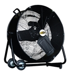 J&D Manufacturing PDF24 24-inch Premium Direct Drive Drum Fan
