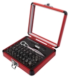 Sunex 9726 38 Piece Mini Ratchet and Bit Set