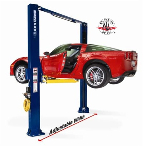 USED BendPak XPR-10A Two Post Lift, 10,000 Lb. Capacity ...