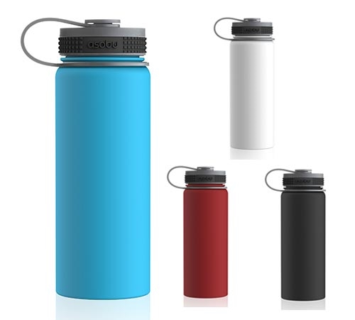 Asobu Mighty Flask Insulated Water Bottle Red 40 oz