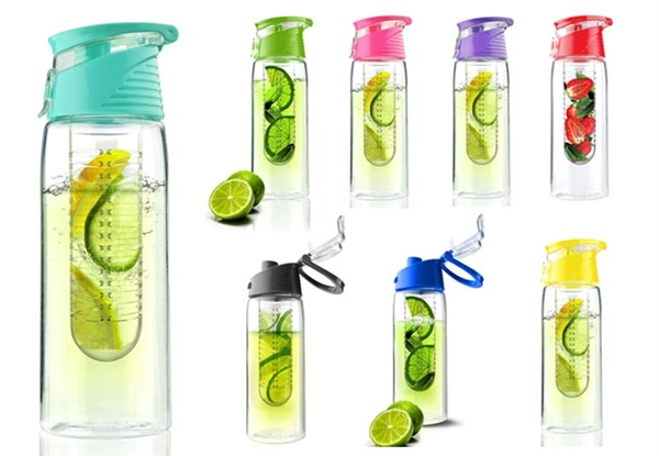 Fruit Infuser Water Bottle by ASOBU Pure Flavour 2 Go