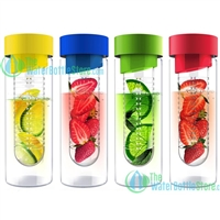 ASOBU Flavour It Glass Fruit Infuser Water Bottle