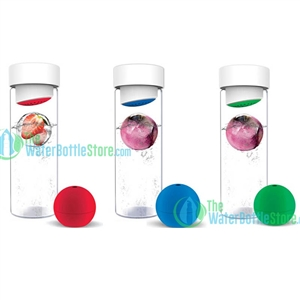 ASOBU Ice Ball Flavour It Fruit Infusion Water Bottle