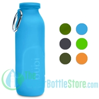 Bübi 35 oz 1 Liter Collapsible Silicone Reusable Water Bottle
