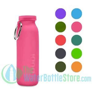 Bübi 22 oz 650 ml Collapsible Silicone Reusable Water Bottle