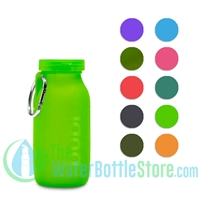 Bübi 14 oz 425 ml Collapsible Silicone Reusable Water Bottle