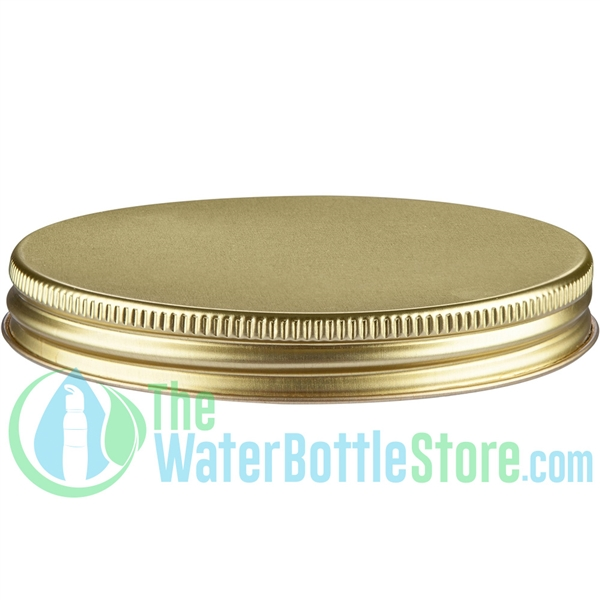 Replacement 38mm Gold Metal Cap/Top with Plastisol Liner